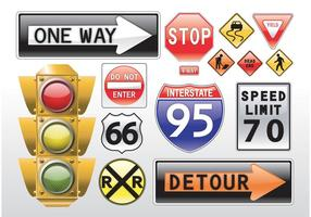 Road Signs Vectors