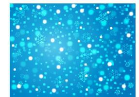 Fondo del vector del invierno