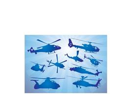 Helicopters-vectors