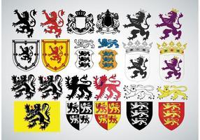 Heraldry Vectores