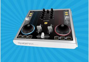 audio mixer vector