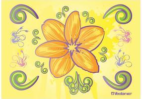 Art vecteur fleur