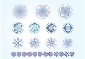 Starburst vectores
