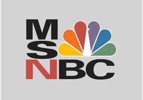 Logotipo de vetor MSNBC