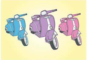 Cool Vespa Vectores