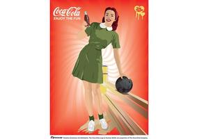 Cartaz de coca-cola