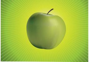 Verde de Apple Vector