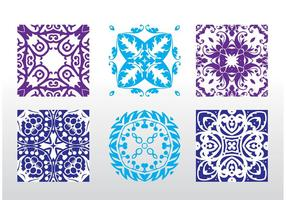 Seamless Vector Pattern Tiles