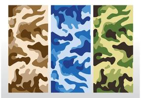 Camouflage Patroon Vector