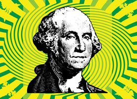 President Washington vector