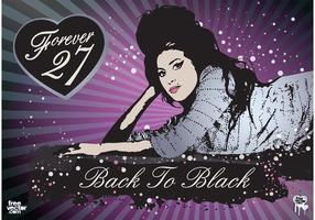 Amy Winehouse Vector