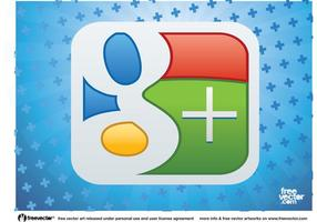 Logotipo de google plus vector