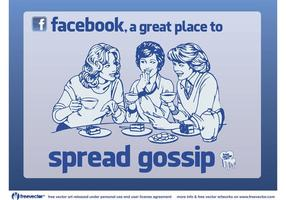 Facebook Klatsch