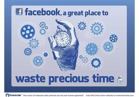 Heure de Facebook