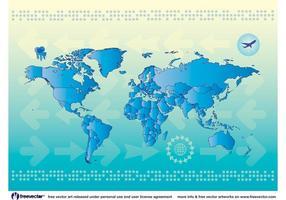 Världskarta Länder