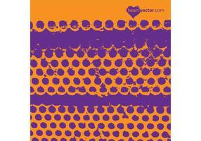 Grunge Dots Vector