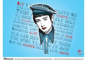 Boy George vector