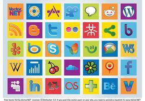 Sociala logotyper