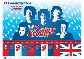 Vecteur de Rolling Stones