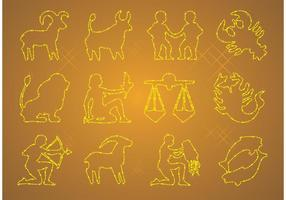 Zodiac ikoner