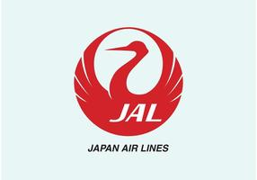 japan Airlines Vektor-Logo vektor