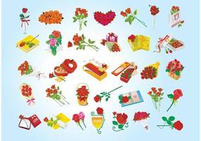 Valentinsgruß-Geschenkgraphiken
