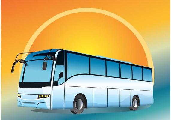 Автобус для экскурсии школьников