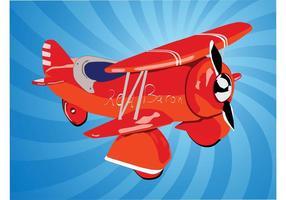 Flugzeug Cartoon