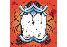 Placa de Grunge