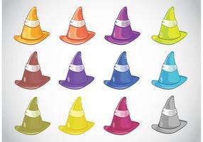 Chapéus coloridos