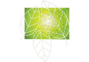 Graphiques vectoriels feuille