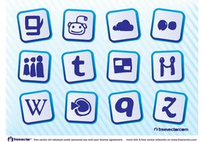 Logos de mídia social