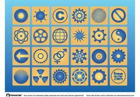 Iconos de círculo