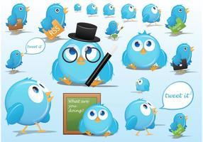 Caricatures de Twitter