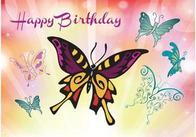 Joyeux anniversaire carte de souhaits
