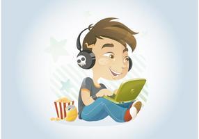 Enfant d'ordinateur