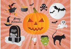 Gelukkig Halloween Design