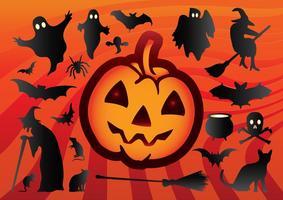 Vectores frescos de Halloween