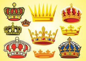 Crowns Vectors