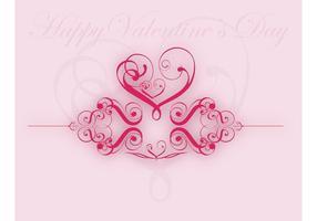 Ilustrações de valentine heart