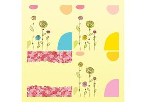 Scribbles de fleurs