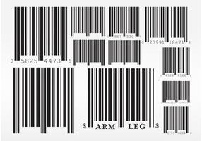 Vecteurs de codes à barres
