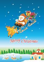 Carte de père Noël