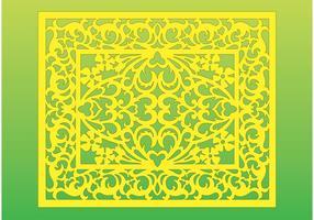 Antiek Bloemen Frame