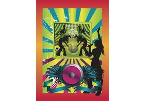 Music-poster-vector