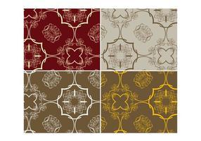 Blumen-Muster-Pack