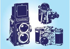 Vintage Camera Vectors