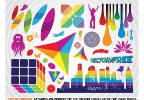 Colorful Vector Clip Art Graphics