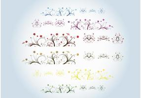 Beautiful Plants Vectors