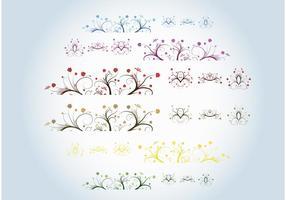 Schöne Pflanzen Vektoren
